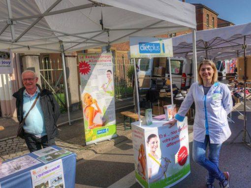 Dietplus sur le stand de Montigny Entreprendre à la grande braderie de Montigny les Metz