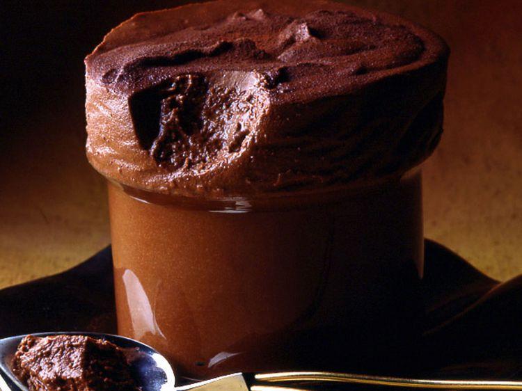 Soufflé glacé au cacao